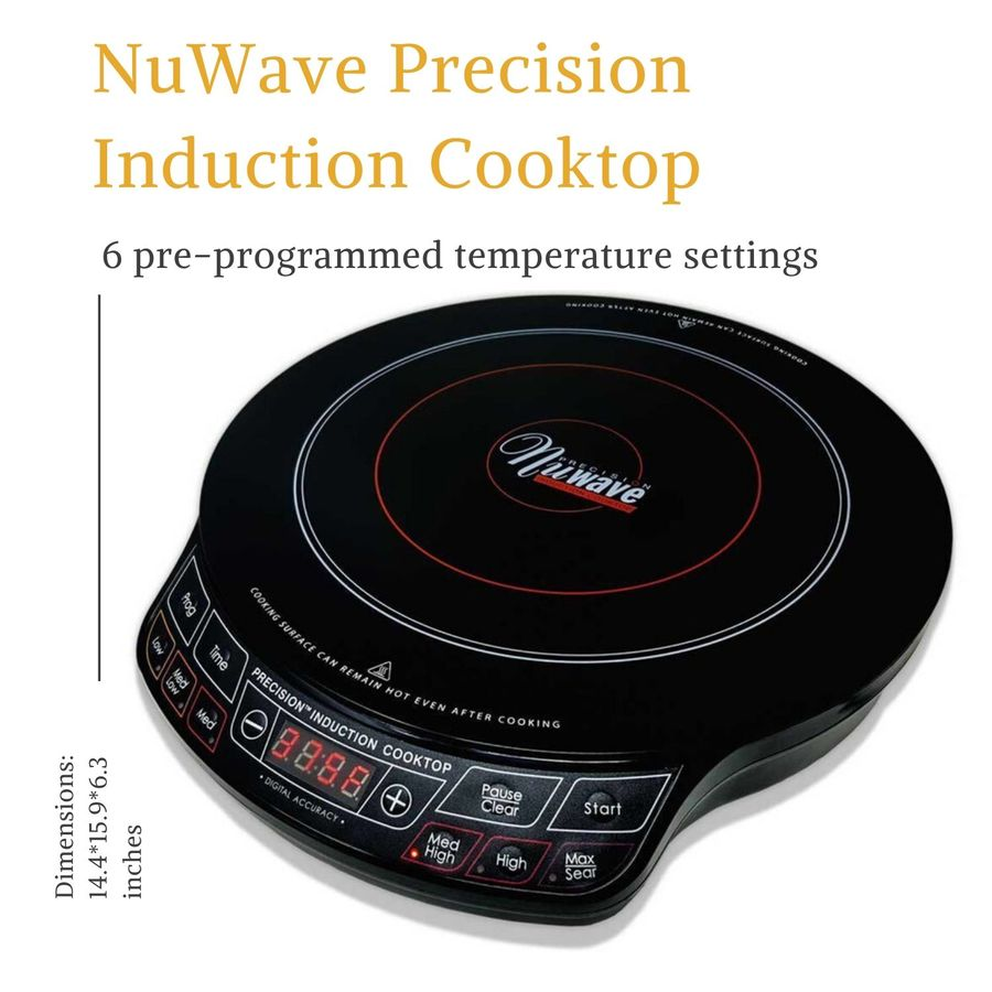 NuWave Precision 1300 Watts Induction Cooktop